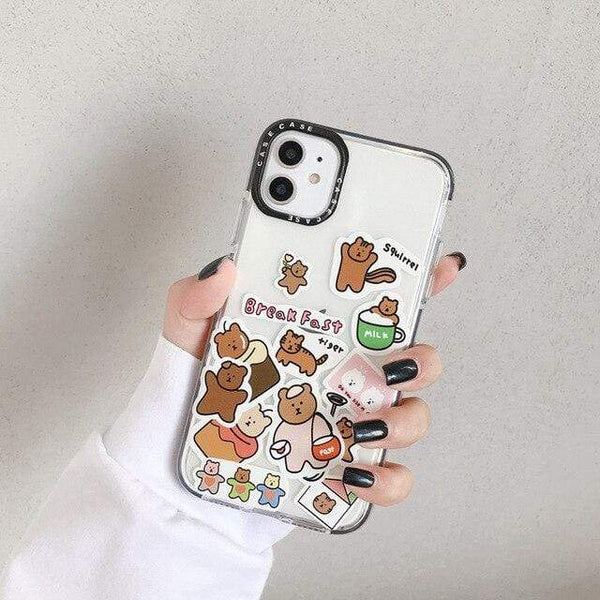 "ISIT Store Coques for iPhone 7 or 8 / style 5 Coque Iphone ""LE BOULEDOGUE FRANÇAIS""™"