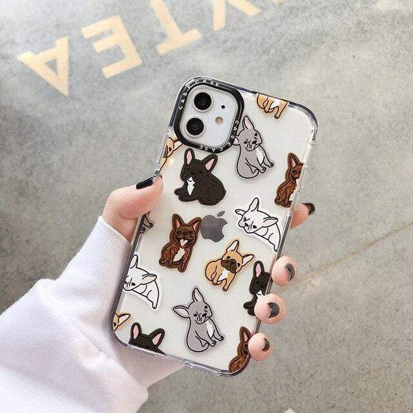 "ISIT Store Coques iPhone 7 or 8 / style 1 Coque Iphone ""LE BOULEDOGUE FRANÇAIS""™"
