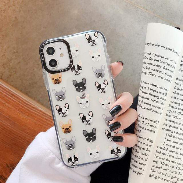 "ISIT Store Coques iPhone 7 or 8 / style 2 Coque Iphone ""LE BOULEDOGUE FRANÇAIS""™"
