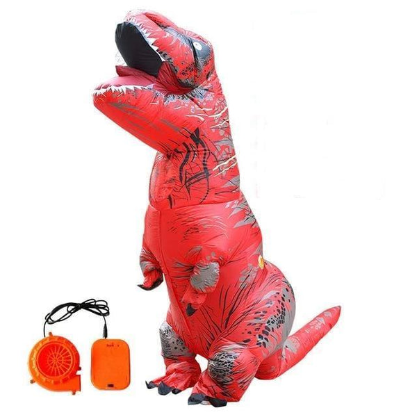 "KatasTima'ChlinG Costumes anime Rouge Adulte Costume gonflable Dinosaure ""LE BOULEDOGUE FRANÇAIS""™"