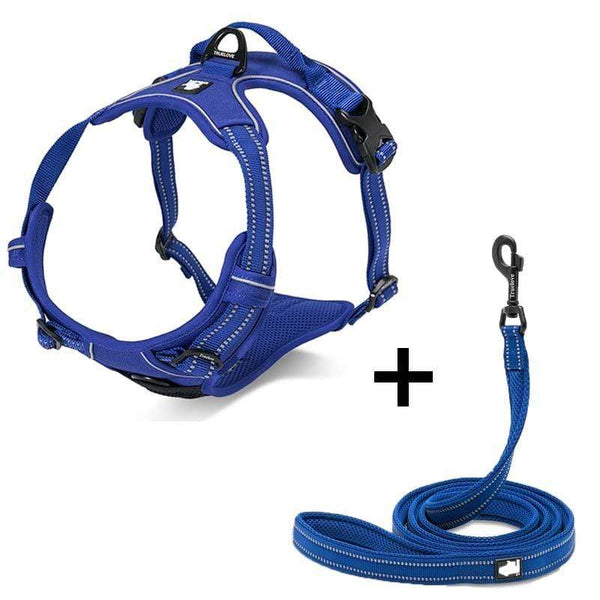 Katastimachling Harnais Blue / XL Dog Breast Strap Dog Traction