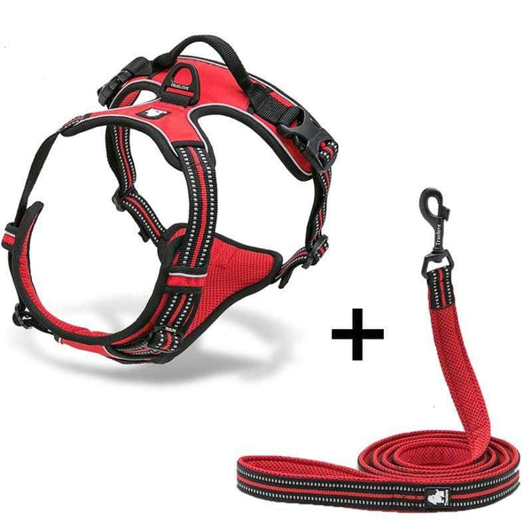 Katastimachling Harnais Red / L Dog Breast Strap Dog Traction