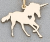 Katastimachling Pendentif Colliers Gold Unicorn Horse unicornio Necklace Magical Licorne