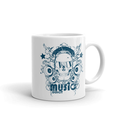 Coffee Mug The Best Unique Mug With Skull Design for Coffee & Music Lovers - Skullarship