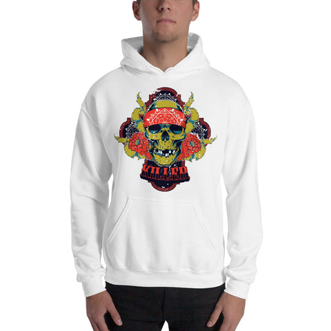 Super Cool Vintage Serial Killer Skull Hoodie - Skullarship