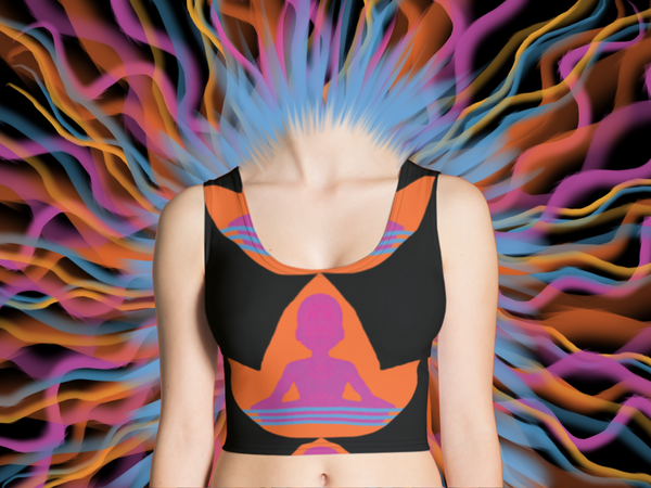 Rayspect Lotus Peace Crop Top ©Rayspect