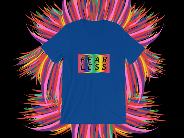 FEARLESS classic Unisex T-Shirt ©Rayspect