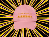 Healthy people are dangerous, Dad hat © Rayspect