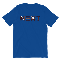 NOW - NEXT back Unisex T-Shirt ©Rayspect