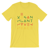 Vegan plant power peace T-Shirt @Rayspect
