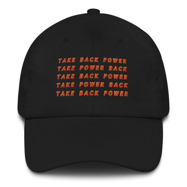 Take Back Power Dad hat