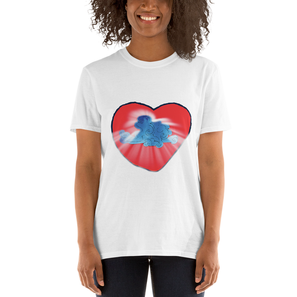 Heart breakthrough Unisex T-Shirt ©Rayspect