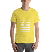Rayspect PEACE Short-Sleeve Unisex T-Shirt ©Rayspect