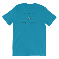 Metal Detox Rayspect logo- wise up or die stupid - Unisex T-Shirt  ©Rayspect
