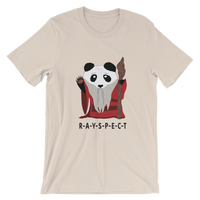 Panda Ji - Wise up or die stupid Unisex T-Shirt  ©Rayspect