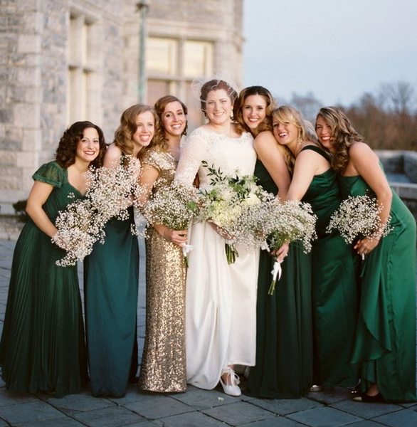 Mix & Match Bridesmaid Dresses
