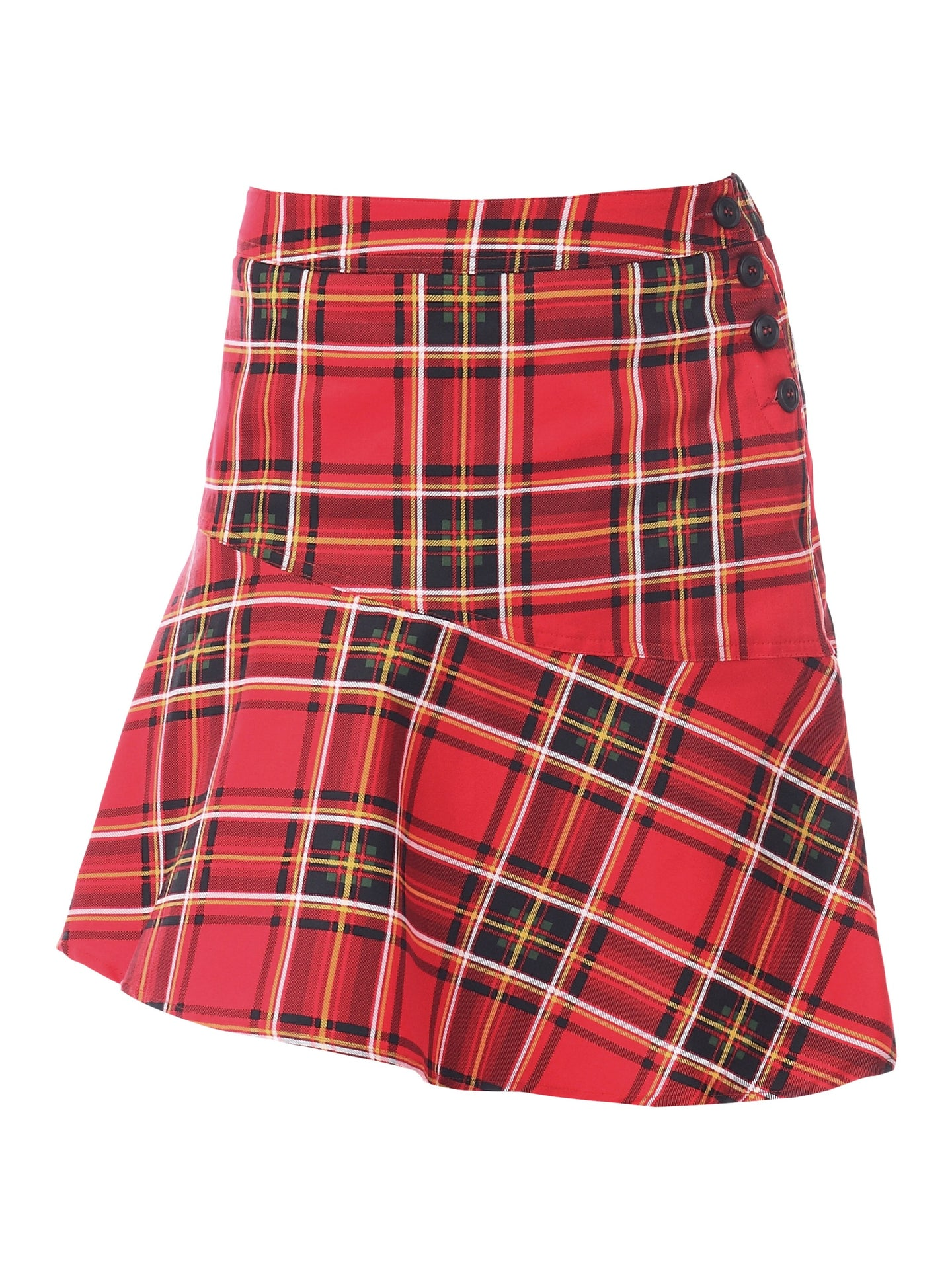 PRE-ORDER Tartan Skirt, Red Check