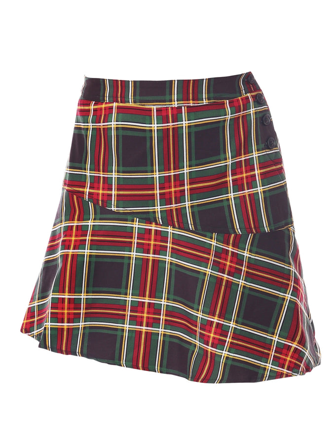 PRE-ORDER Tartan Skirt, Green Check