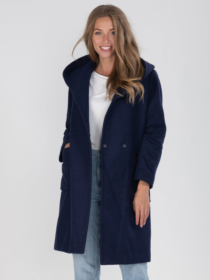 Hooded Quilted Inner Coat