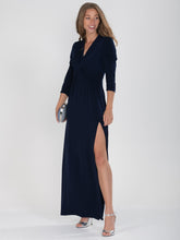 Load image into Gallery viewer, Twist Knot Front Maxi Dress