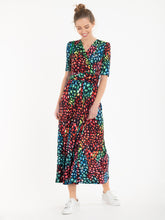 Load image into Gallery viewer, Jolie Moi Denise Maxi Dress, Navy/Multi