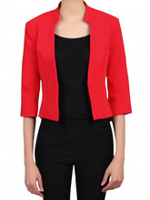 Load image into Gallery viewer, Floral Lined Blazer