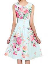 Load image into Gallery viewer, Jolie Moi Detail Prom Dress, Green Floral