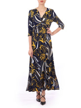Load image into Gallery viewer, Twist Front Maxi Dress, Floral Multi