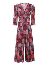 Load image into Gallery viewer, Printed Twist Front Jumpsuit, Multi