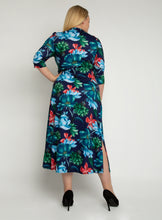 Load image into Gallery viewer, J by Jolie Moi Twist Front Maxi Dress, Floral Multi