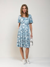 Load image into Gallery viewer, Flare Sleeve Jersey Dress