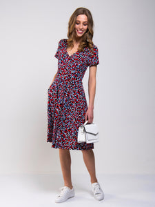 Sweetheart Neck Swing Dress