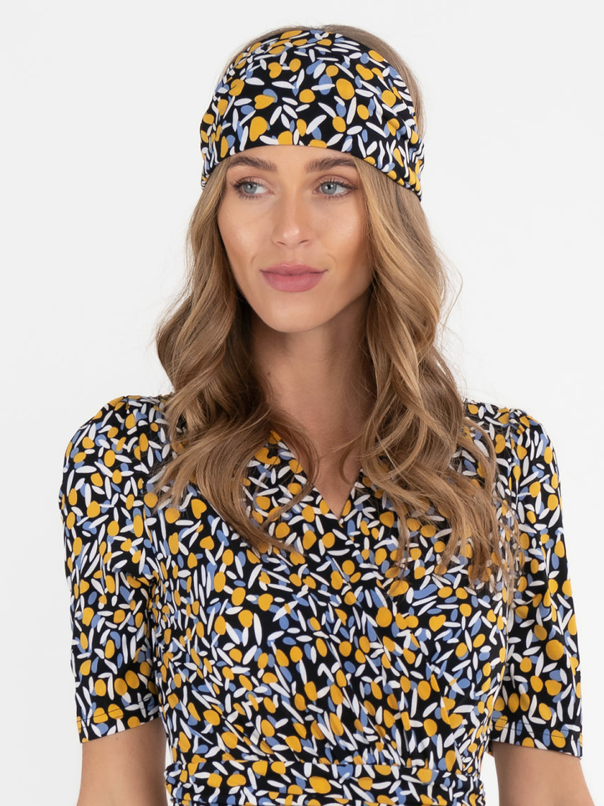 Printed Wide Jersey Headbands , Multi