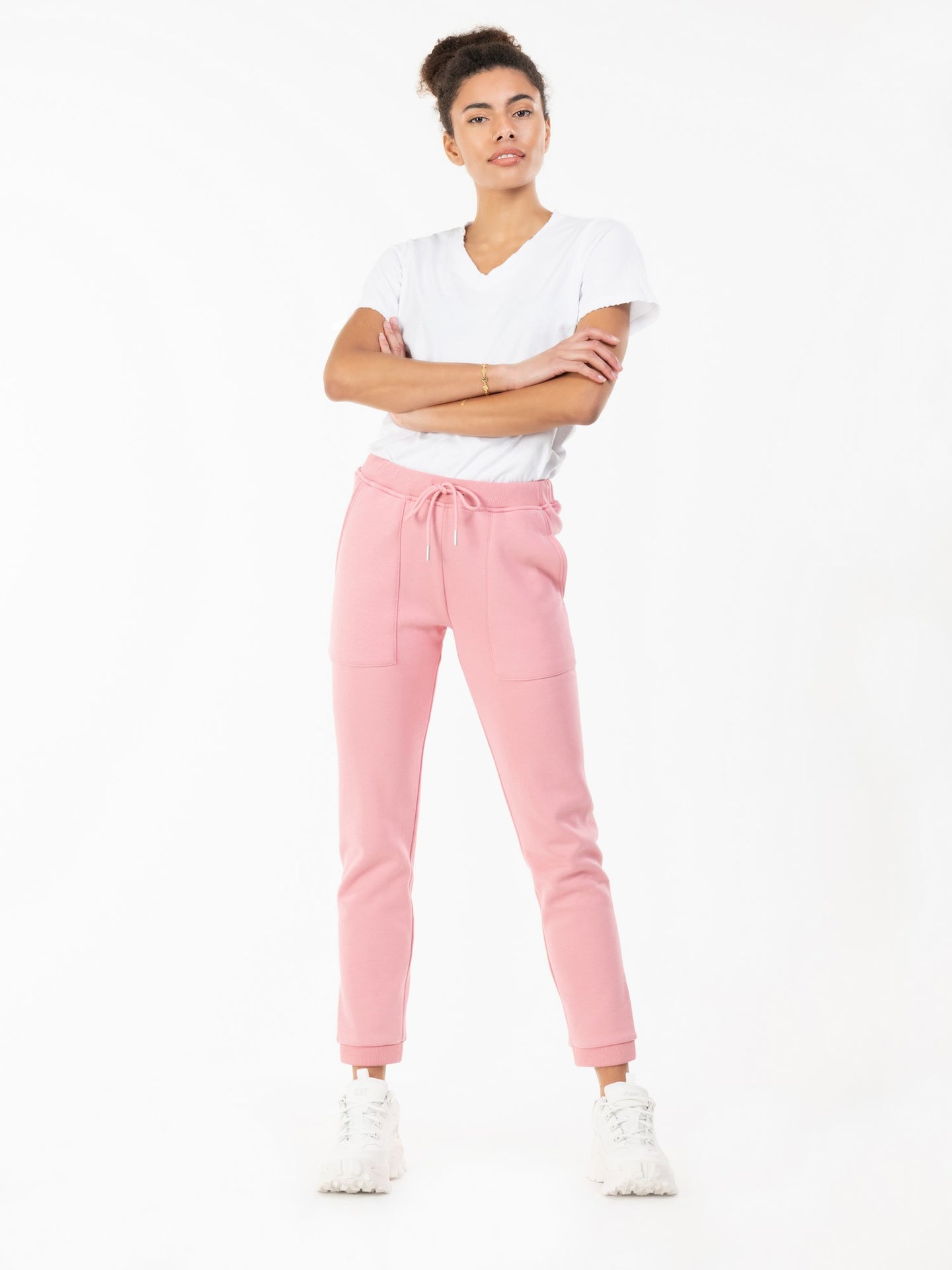 Jolie Moi Phebe Joggers, Light Pink