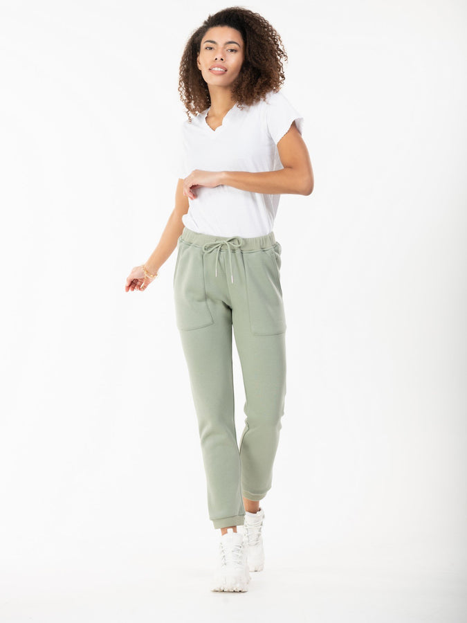 Jolie Moi Phebe Joggers, Light Green