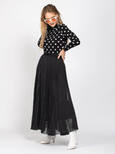 Load image into Gallery viewer, Polka Dot Maxi Skirt