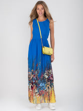 Load image into Gallery viewer, Printed Chiffon Maxi Dress