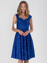 Load image into Gallery viewer, Ruched Crossover Bust Prom Dress
