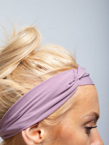 Twisted Knot Headband, Mauve