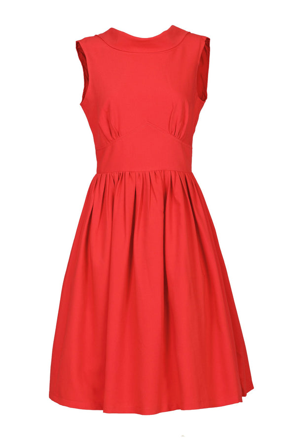 Boat Neck 50's Fit & Flare Dress