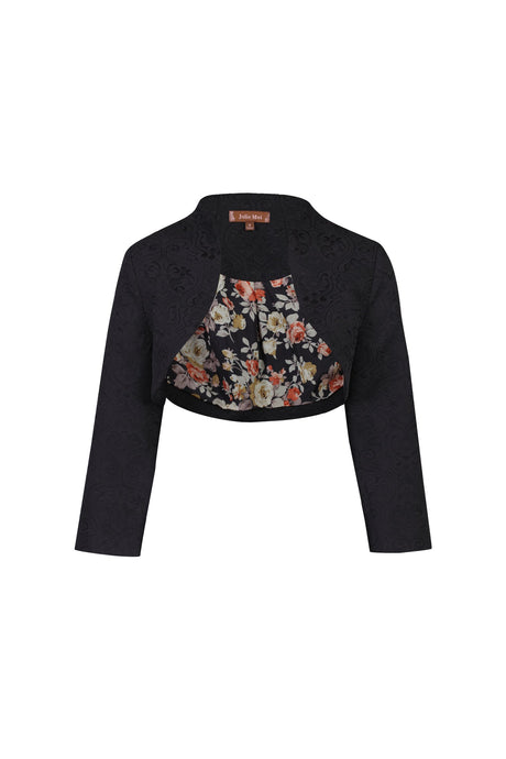 High Collar Bolero Jacket
