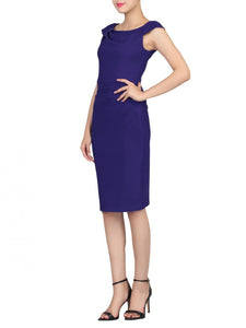 Ruched 40s Wiggle Dress