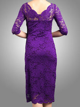 Load image into Gallery viewer, Scalloped Lace Dress