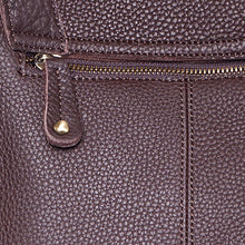 Load image into Gallery viewer, Jolie Moi Leather Shoulder Bag, Burgundy