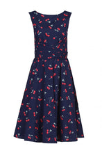 Load image into Gallery viewer, Floral Wrap Skater Dress