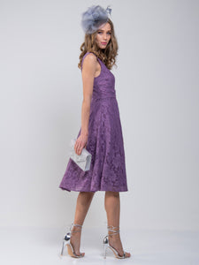 Lace Bonded Prom Bridesmaid Dress
