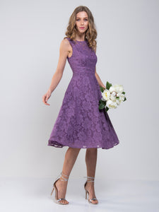 Lace Bonded Prom Dress