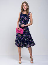 Load image into Gallery viewer, Floral Chiffon Midi Dress