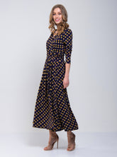 Load image into Gallery viewer, Print Cross Over Maxi Dress