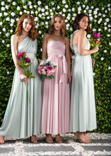 Load image into Gallery viewer, Twist & Tie Multiway Bridesmaid Maxi Dress with Bandeau